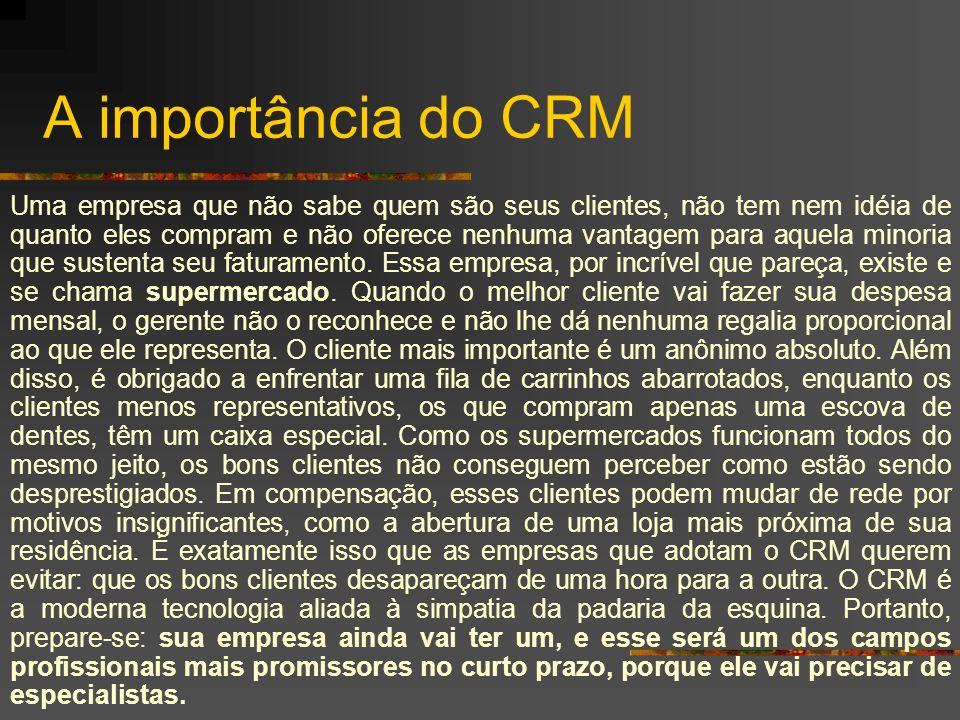 A importância do CRM