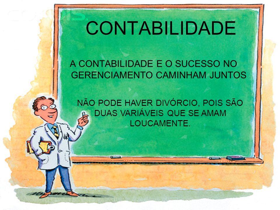 A CONTABILIDADE E O SUCESSO NO GERENCIAMENTO CAMINHAM JUNTOS