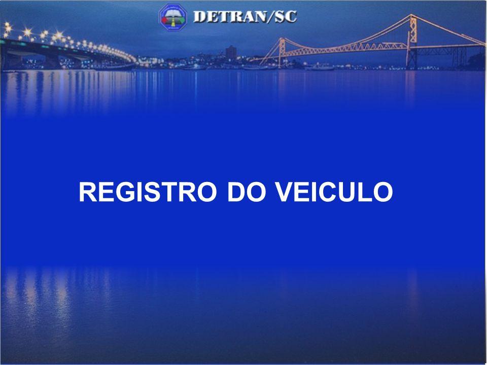 REGISTRO DO VEICULO