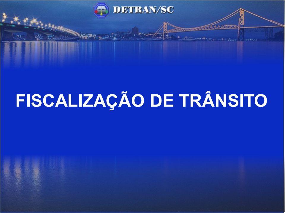 FISCALIZAÇÃO DE TRÂNSITO