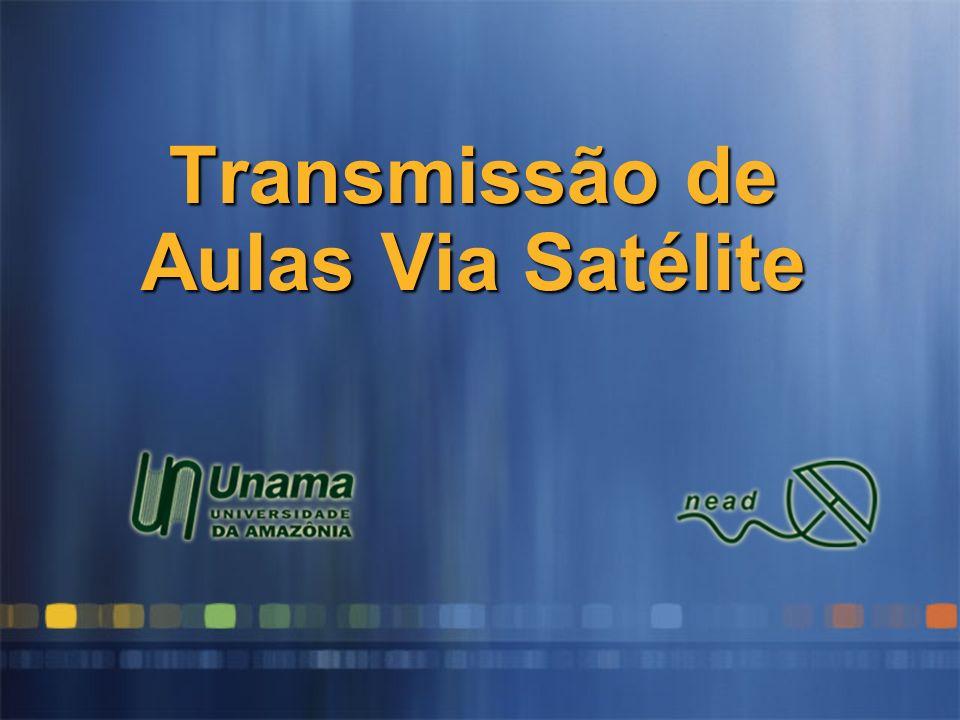 Transmissão de Aulas Via Satélite