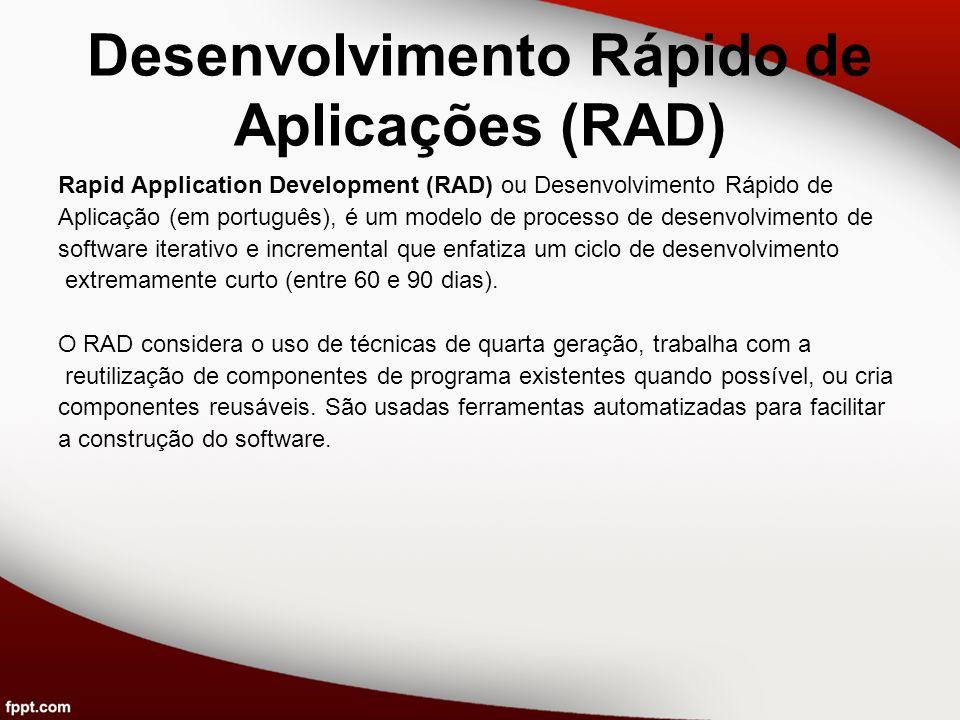 Desenvolvimento Rápido de Aplicações (RAD)