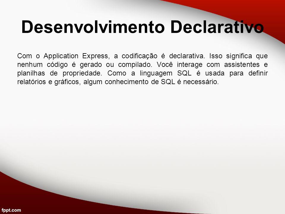 Desenvolvimento Declarativo