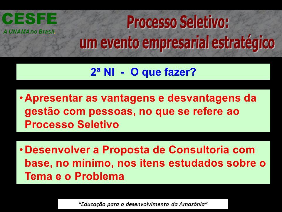 CESFE Processo Seletivo: um evento empresarial estratégico