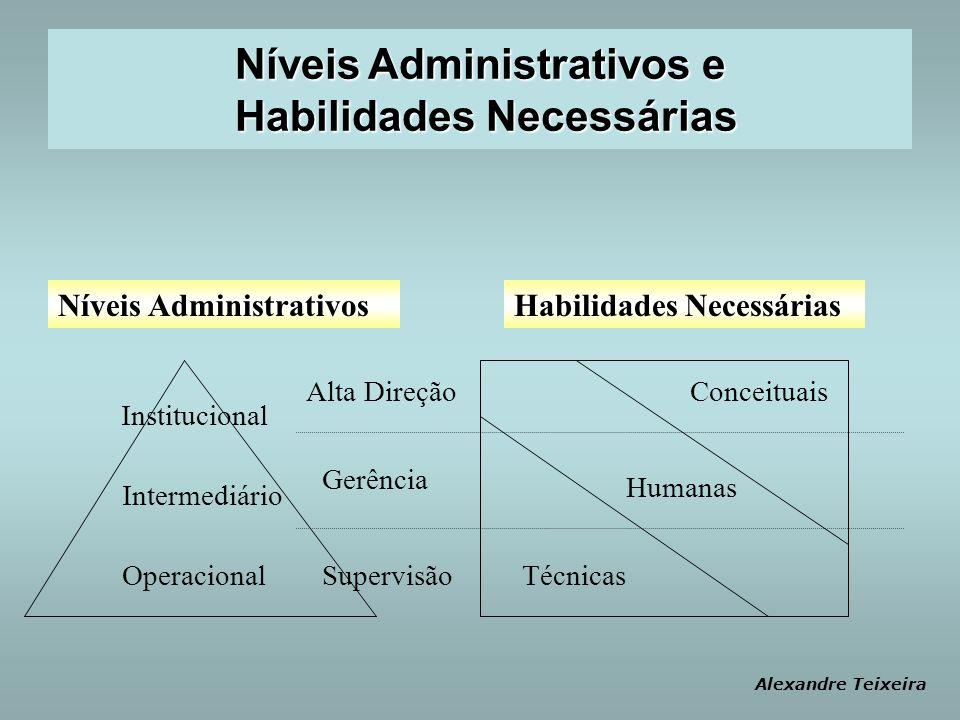 Níveis Administrativos e Habilidades Necessárias