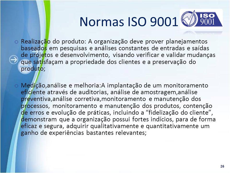Normas ISO 9001