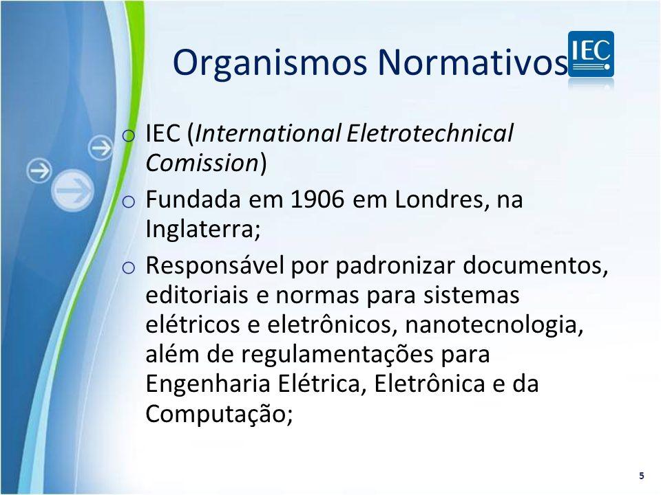 Organismos Normativos