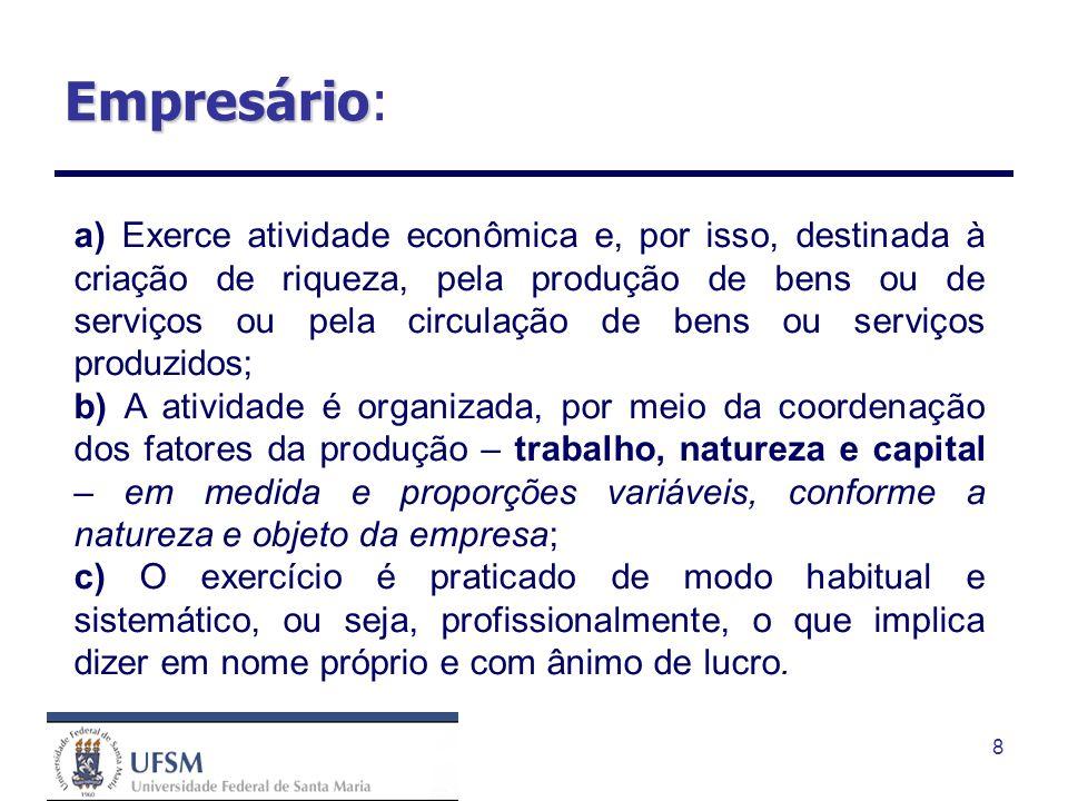 Empresário: