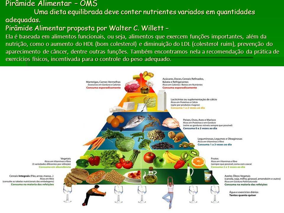 Pirâmide Alimentar – OMS