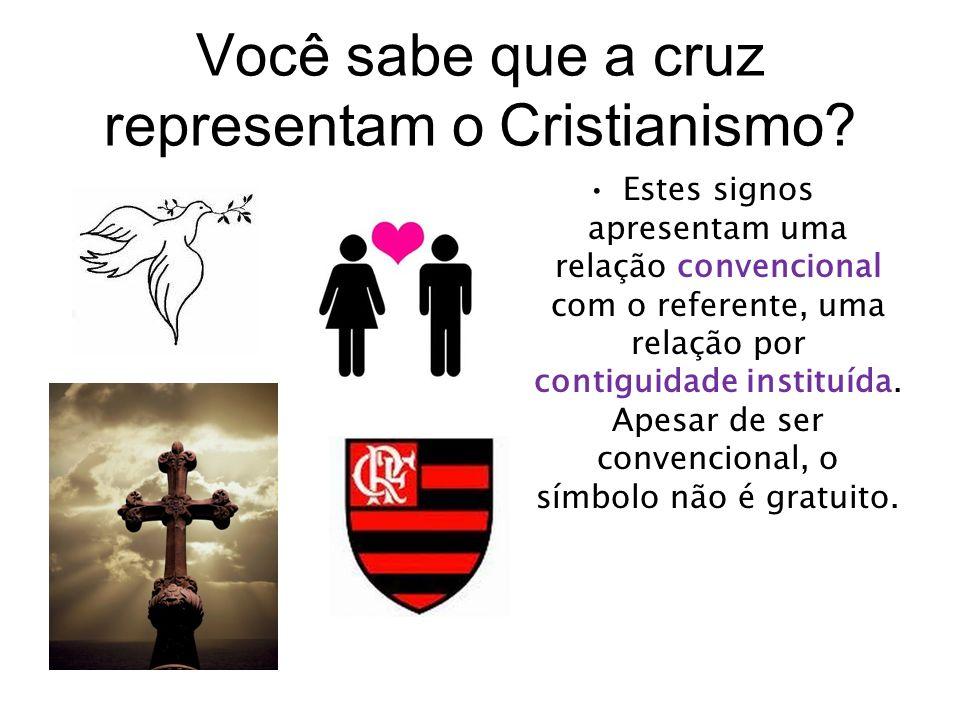 Você sabe que a cruz representam o Cristianismo