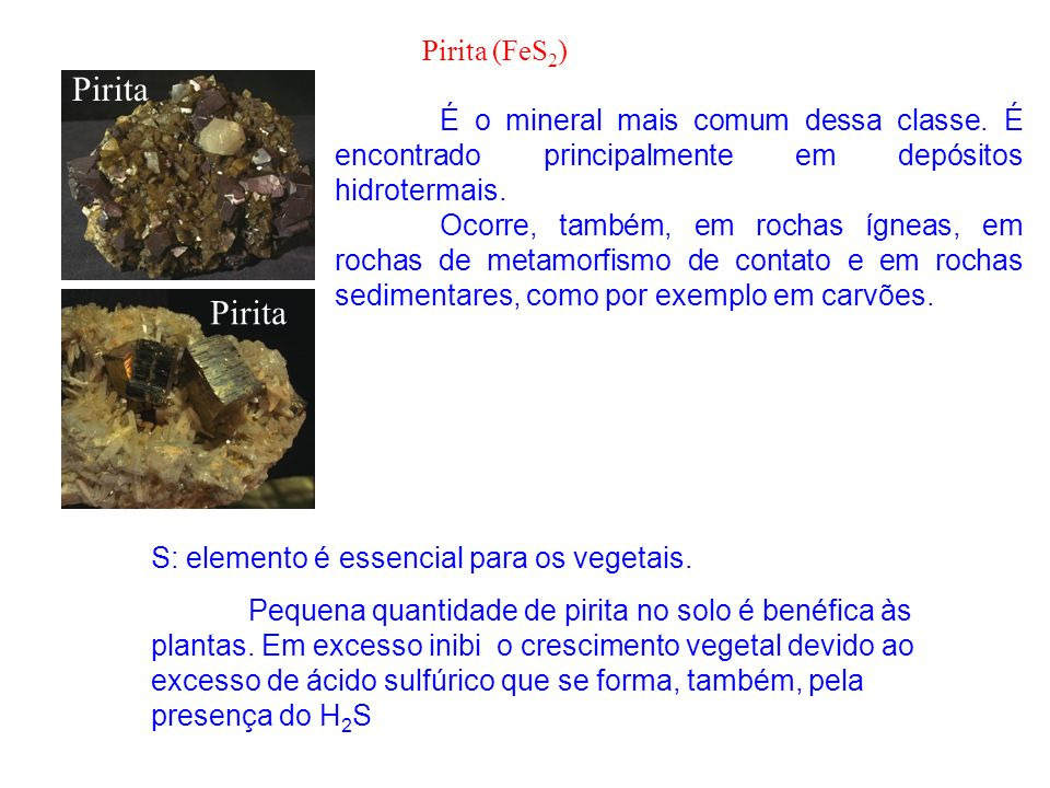 Pirita Pirita Pirita (FeS2)