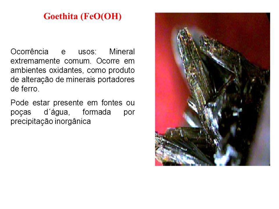 Goethita (FeO(OH)
