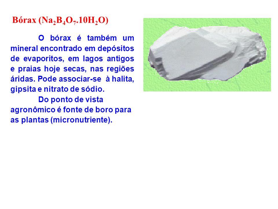 Bórax (Na2B4O7.10H2O)