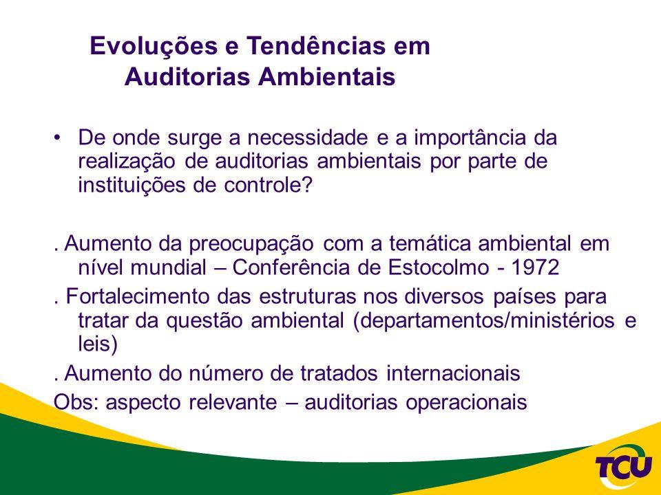 Evoluções e Tendências em Auditorias Ambientais