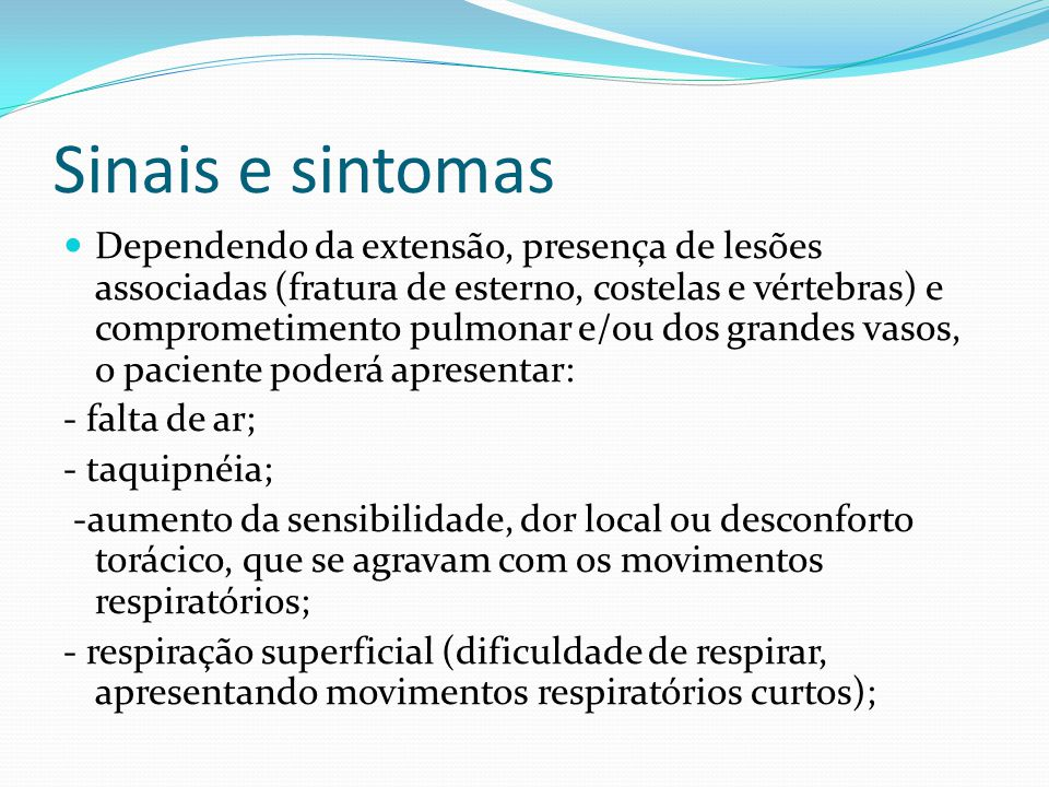 Traumatismos les es de cr nio coluna e t rax ppt video for Design of oxidation pond ppt