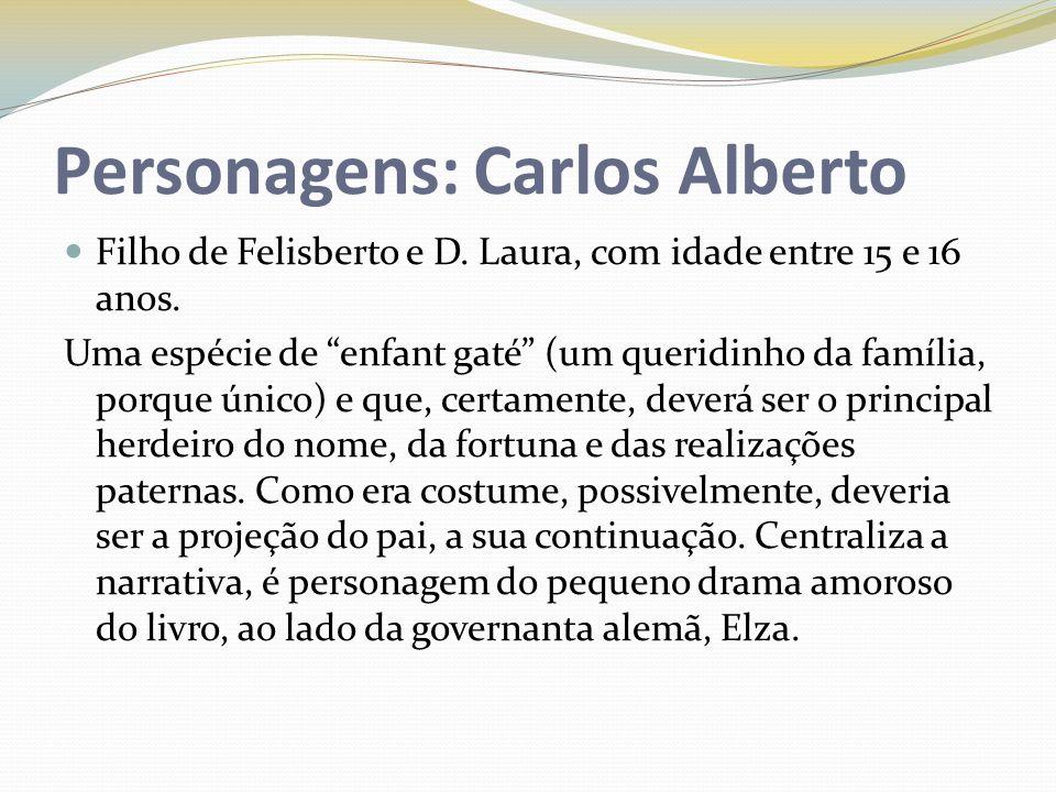 Personagens: Carlos Alberto