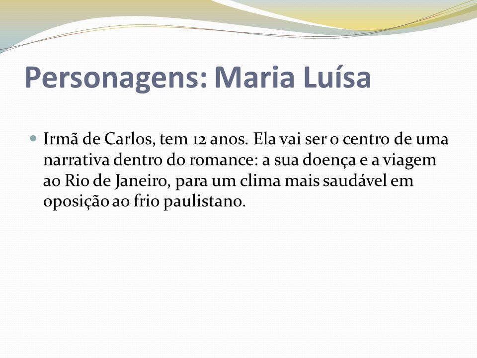 Personagens: Maria Luísa