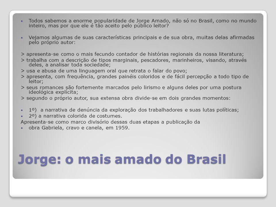 Jorge: o mais amado do Brasil