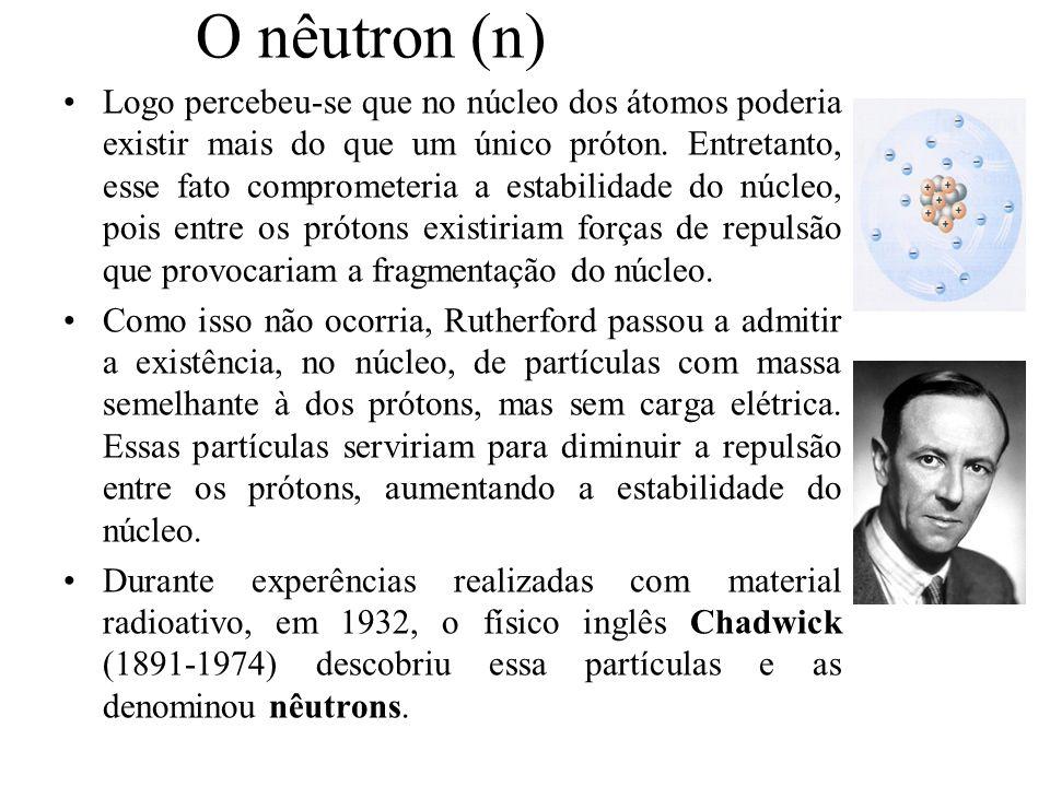 O nêutron (n)