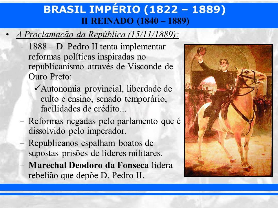 A Proclamação da República (15/11/1889):