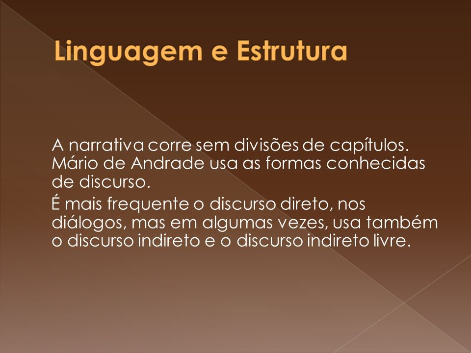 Linguagem e Estrutura