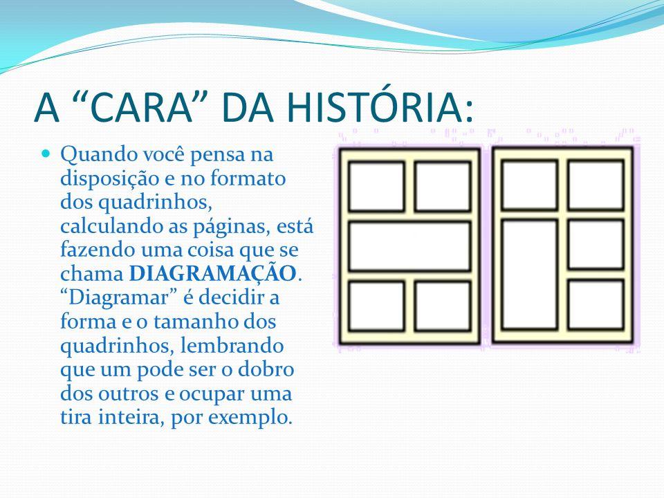 A CARA DA HISTÓRIA:
