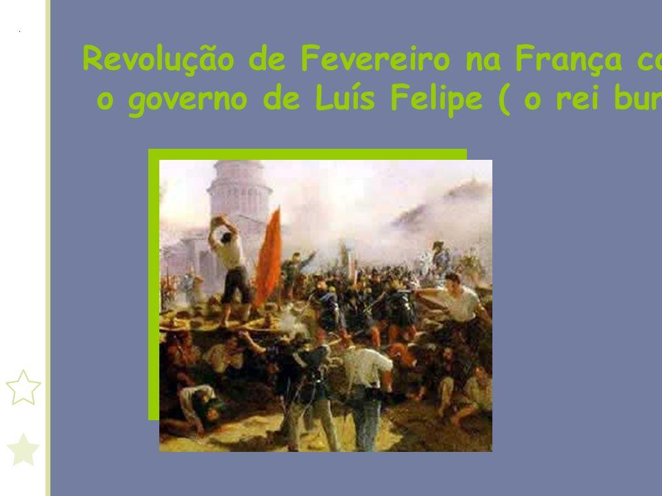 Revolução de Fevereiro na França contra