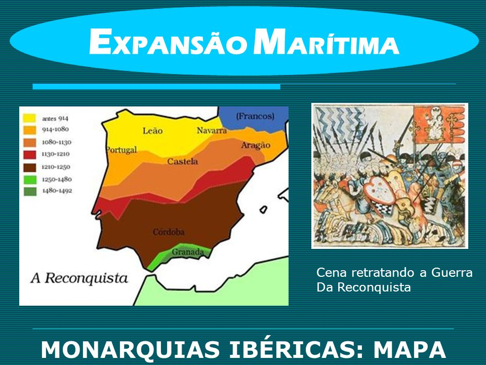 MONARQUIAS IBÉRICAS: MAPA