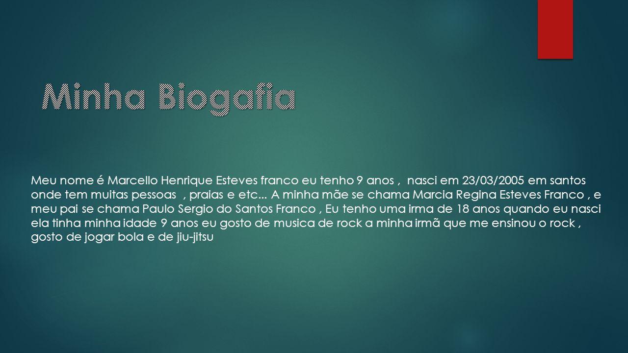 Minha Biogafia