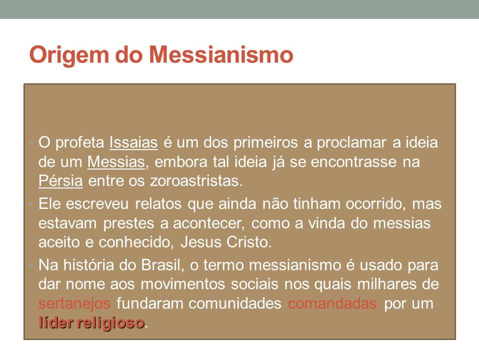 Origem do Messianismo