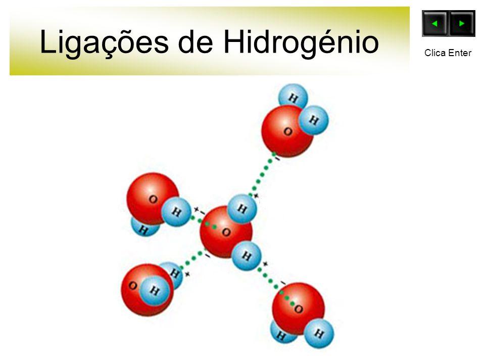 Ligações de Hidrogénio