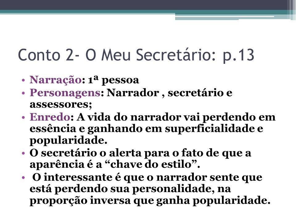 Conto 2- O Meu Secretário: p.13