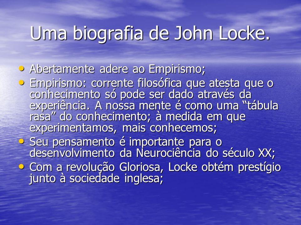 Uma biografia de John Locke.