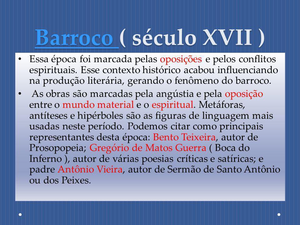 Barroco ( século XVII )