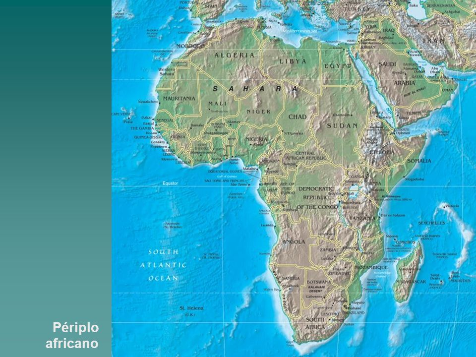 Périplo africano