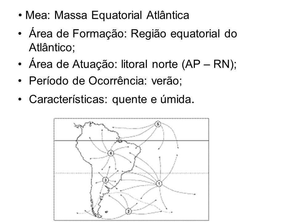 Mea: Massa Equatorial Atlântica