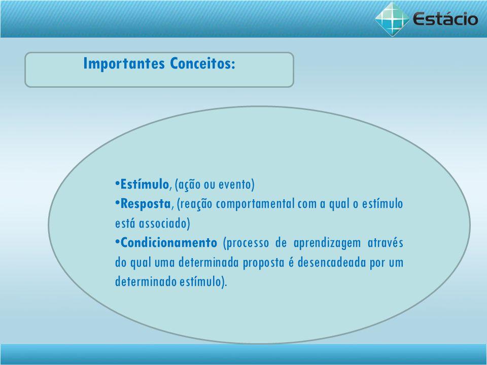 Importantes Conceitos: