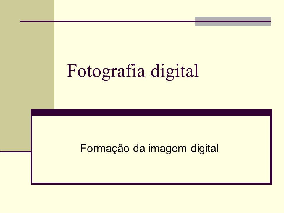 Formação da imagem digital