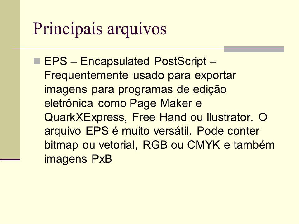 Principais arquivos