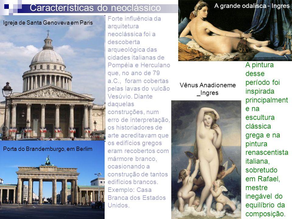 Características do neoclássico