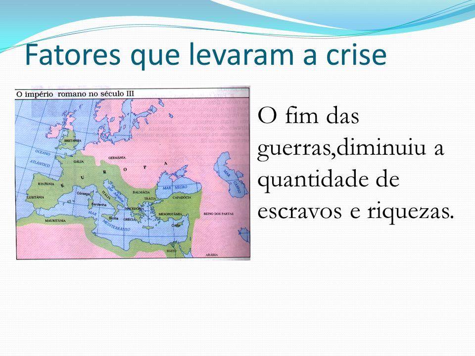 Fatores que levaram a crise