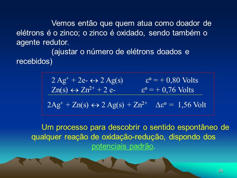 (ajustar o número de elétrons doados e recebidos)