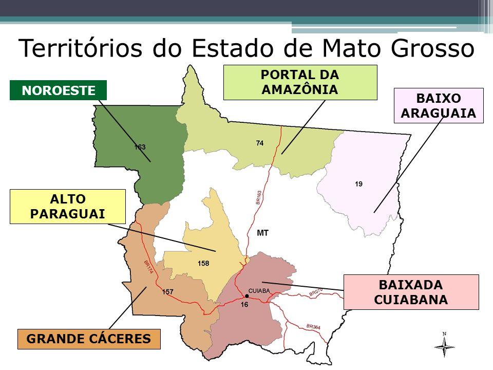 Territórios do Estado de Mato Grosso