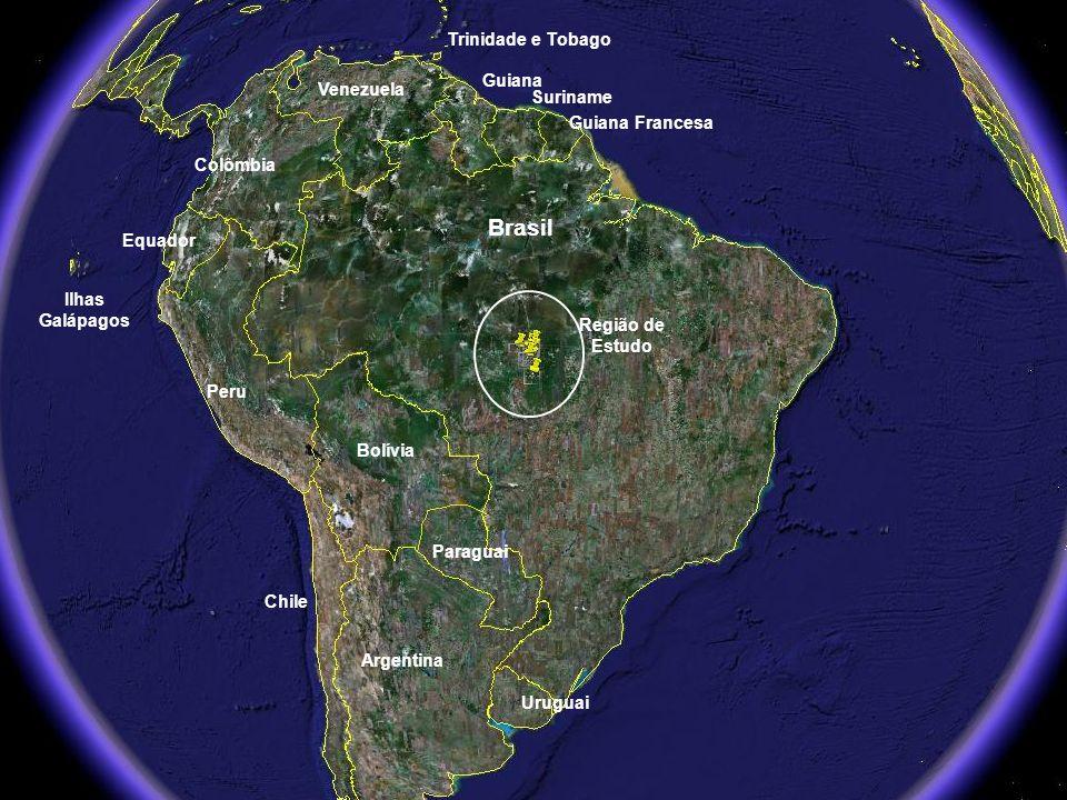 Brasil Trinidade e Tobago Guiana Venezuela Suriname Guiana Francesa