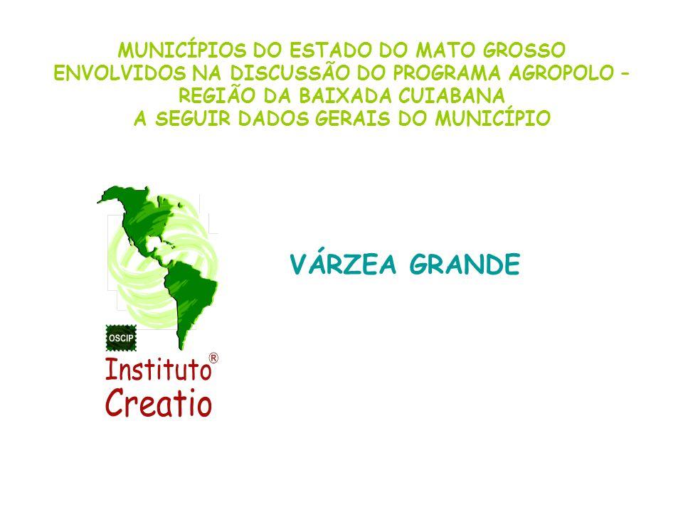 VÁRZEA GRANDE MUNICÍPIOS DO ESTADO DO MATO GROSSO