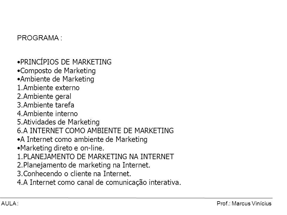 Comércio Eletrônico e Marketing Digital