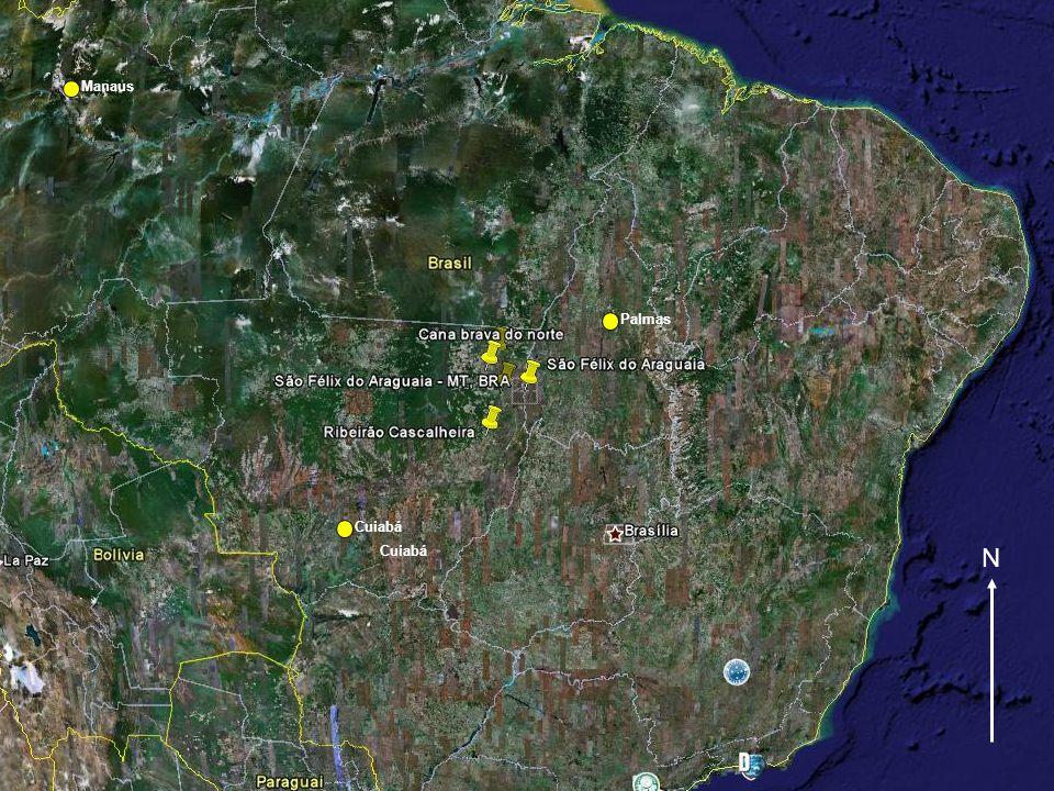 Manaus Palmas Cuiabá Cuiabá N