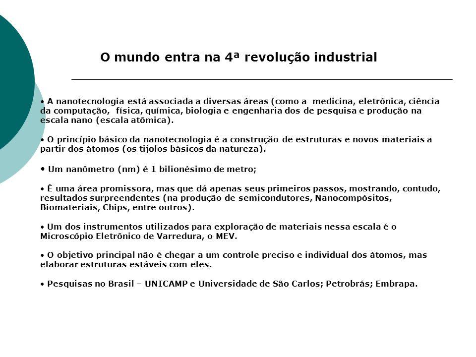 O mundo entra na 4ª revolução industrial