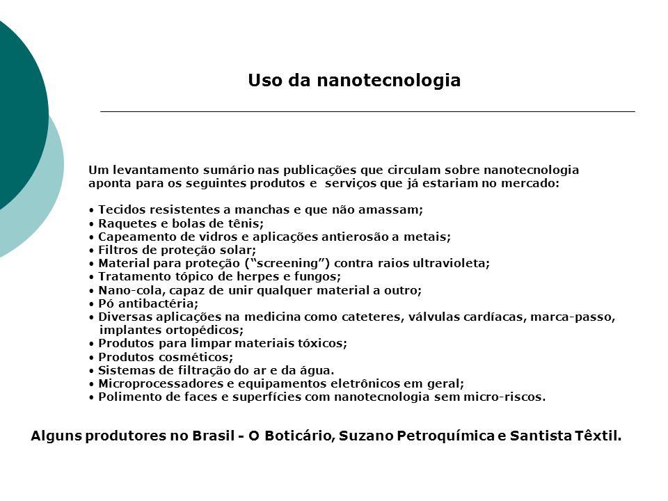 Uso da nanotecnologia