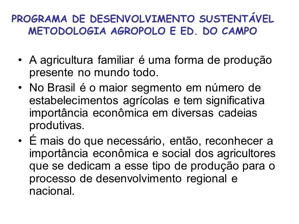 A agricultura familiar é uma forma de produção presente no mundo todo.